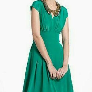 Anthropologie Dil Silk Dress